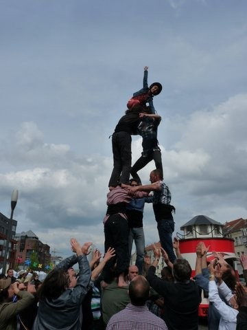 The 3d6 from Castellers Bxl Foyer